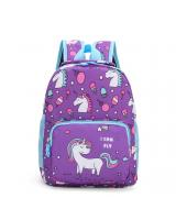 KW80473 CUTE SCHOOL BAG PURPLE