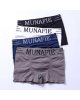 QA-671 MUNAFIE MEN FIT UNDERWEAR BLACK
