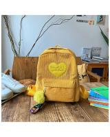 KW80487 WOMEN'S BACKPACK YELLOW