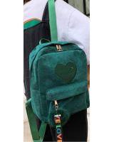 KW80487 WOMEN'S BACKPACK GREEN