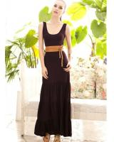 BM71232 CASUAL DRESS AS PICTURE