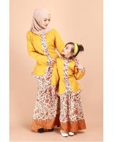 QA-698 KIDS KEBAYA SET YELLOW