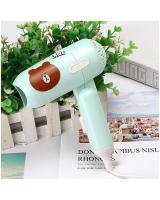 KW80517 CUTE HAIR DRYER GREEN BEAR