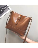 KW80523 PLAIN CROSSBODY BAG LIGHT BROWN