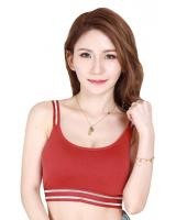 QA-704 BASIC PADDED BRALETTE RED