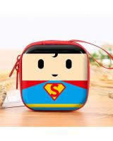 KW80650 CUTE EARPHONES BAG SUPERMAN