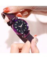 KW80698 ROUND WOMEN'S WATCHES PURPLE