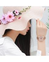 KW80701 ROUND FLOWER WATCHES ROSE GOLD