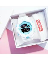 KW80705 CASUAL WOMEN'S WATCHES WHITE BLUE