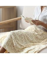 KW80710 CUTE TEDDY TOWEL YELLOW