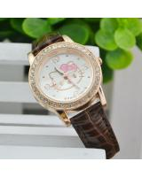 KW80717 CUTE KITTY WATCHES BROWN