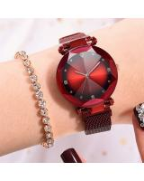 KW80719 STYLISH CASUAL WATCHES RED