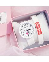 KW80721 CUTE WOMEN'S WATCHES WHITE