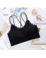 QA-768 WOMEN'S TUBE BRA BLACK