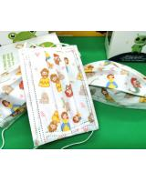 FM1000 Kid Disposable Cartoon Design Kids Face Mask Princess