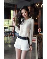 BM71260 CASUAL STYLISH TOP WHITE