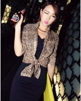 BM71261 TRENDY LEOPARD TOP AS PICTURE