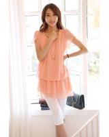 BM71264 CASUAL FASHION TOP PEACH