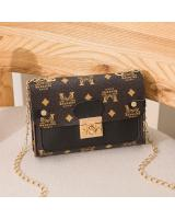 KW80728 TRENDY FASHION BAG BLACK