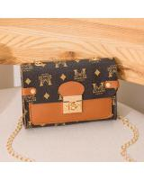 KW80728 TRENDY FASHION BAG BROWN