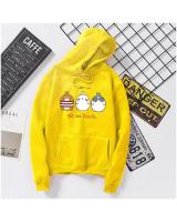 KW80735 CUTE WOMEN'S HOODIE YELLOW