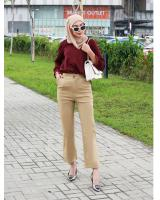 QA-802 ELASTIC PANTS CREAM