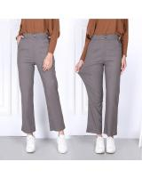QA-802 ELASTIC PANTS GREY