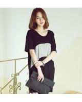 BM71325 Korean Casual Top Black