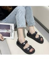 QA-803 CASUAL SANDALS  BLACK