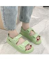 QA-803 CASUAL SANDALS GREEN