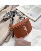 KW80822 SS Chest Sling Bag Light Brown