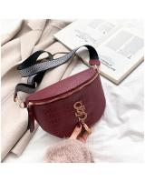 KW80822 SS Chest Sling Bag Wine Red