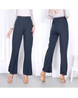 QA-818 BOOTCUT PANTS DARK GREY