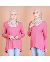QA-820 LOW BASIC BLOUSE PINK
