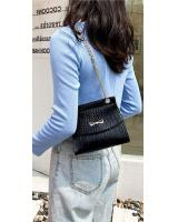 KW80869 Ribbon Sling Bag Black