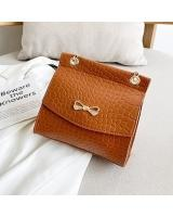 KW80869 Ribbon Sling Bag Brown