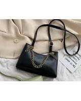 KW80905 Chain Sling Handbag Black
