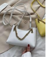 KW80905 Chain Sling Handbag White