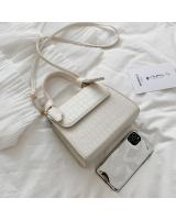 KW80906 Casual Knot Sling Bag White