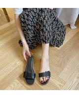 QA-836 CASUAL SANDALS BLACK