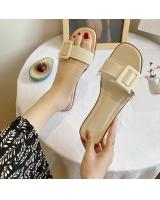 QA-836 CASUAL SANDALS IVORY
