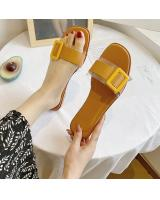 QA-836 CASUAL SANDALS ORANGE
