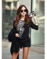 BM71363 Leopard Printed Top As Picture