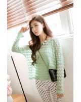 BM71364 Korean Stylish Top Green