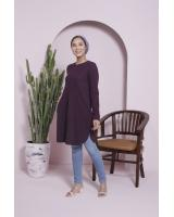 BM71370 Ironless Tunic Blouse As Picture