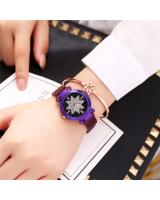 KW80912 Magnetic Women's Watches Purple