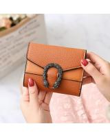 KW80919 Women's Short Wallet Brown
