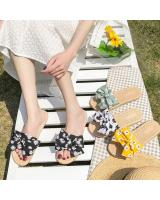 KW80937 Summer Ribbon Sandal Black