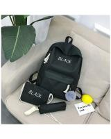 KW80945 Bundle Color Backpack Black