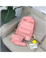KW80945 Bundle Color Backpack Pink